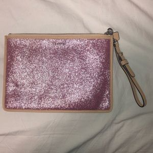 Sparkly Coach Pouch